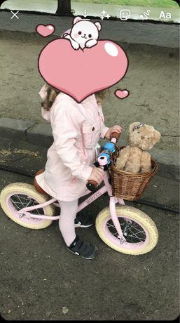 Велобег и шлем banwood, для девочки