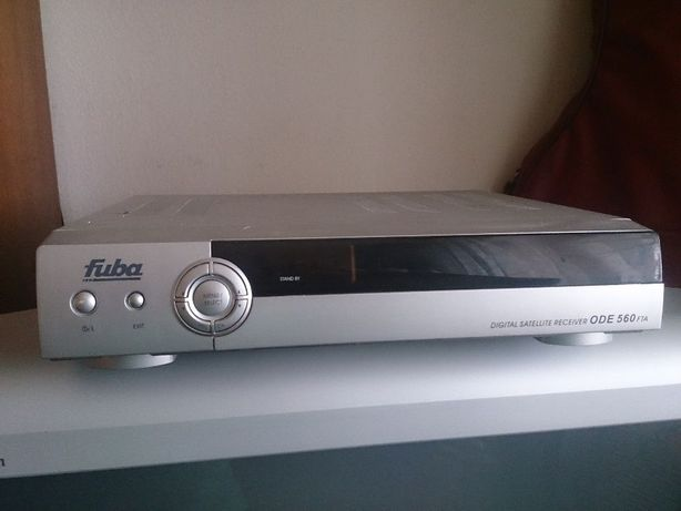 FUBA ODE 560 Digital satellite receiver - zestaw satelitarny