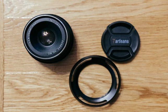 Obiektyw 7artisans 25mm 1.8 Fuji X - gratis osłona