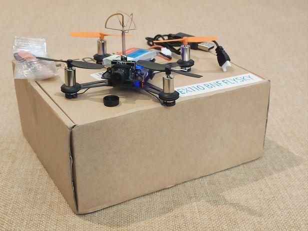 Гоночний FPV квадрокоптер Eachine EX100 RC BNF quadcopter FlySky