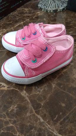 Buty trampki na różowe 21.5