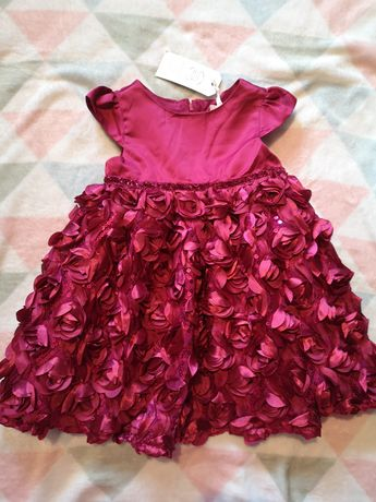 Nowa ozdobna sukienka COOL CLUB young ladies collection