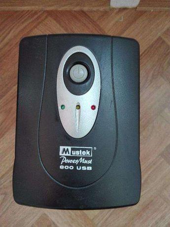 Продам ИБП Mustek PowerMust 600 USB для компьютера. 600 WA.