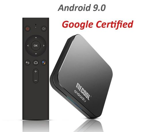MECOOL KM9 PRO 4GB/32GB DDR4 (S905X2)Android TV 10.0 Голос. упра