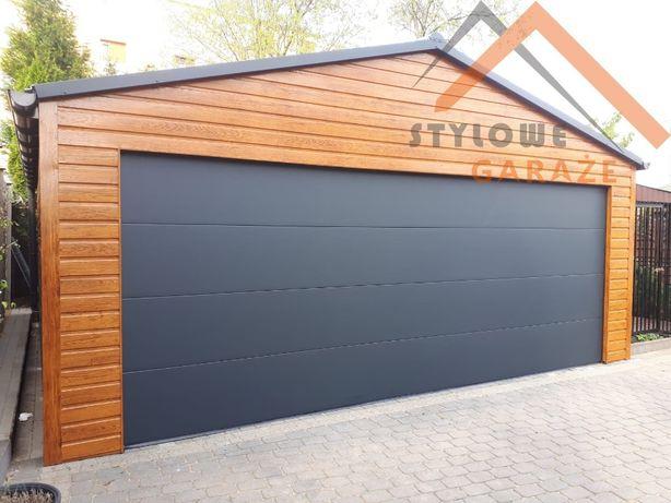 Garaże blaszane garaż blaszany brama segmentowa blaszak drewniany