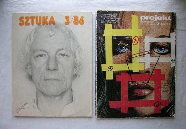 Czasopismo Projekt, Sztuka
