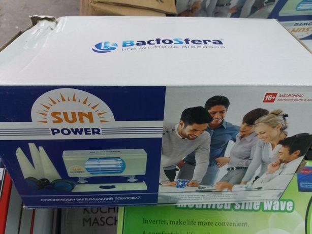 Новый облучатель бактерицидный bactosfera sun power