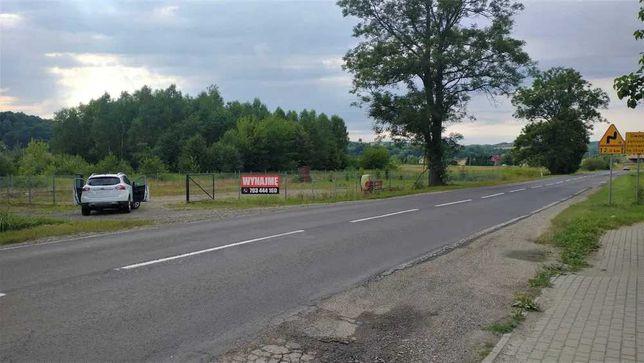 Plac do wynajęcia o powierzchni 13 ar, przy drodze wojewódzkiej DW988
