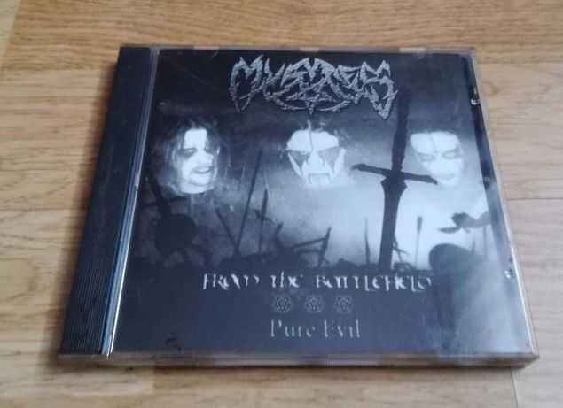 MYSTES - From The Battlefield / Pure Evil || CD