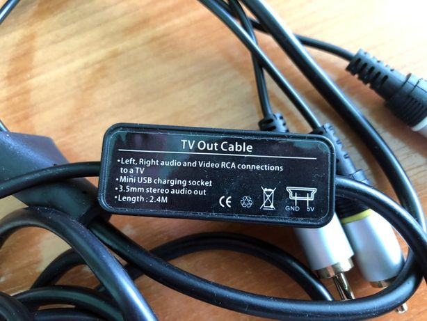 TV Out кабель (Samsung WiTu(Omnia))