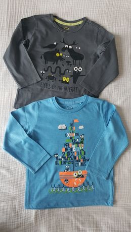 Dwie koszulki chłopięce 104 CoolClub