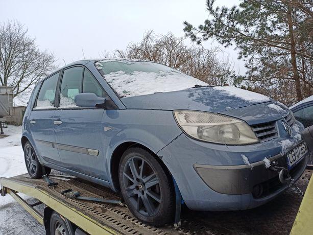 Renault Scenic II Koła alufelgi z Oponami 17 cali stan bdb Wysyłka