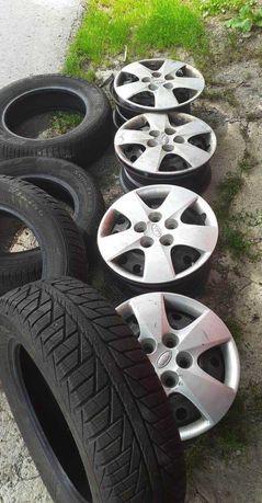 Opony zimowe z felgami r15 Kia Hyundai