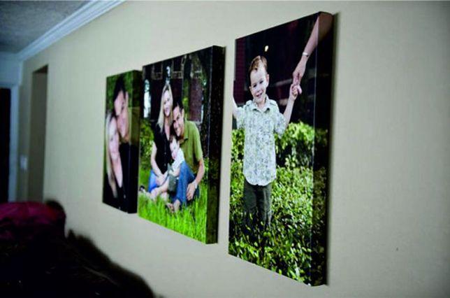 Quadros personalizados em tela canvas