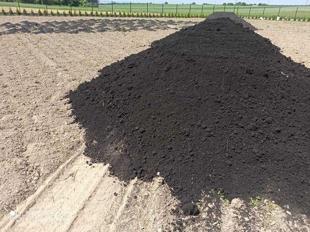 Ziemia, czarnoziem, humus pod trawnik i ogród