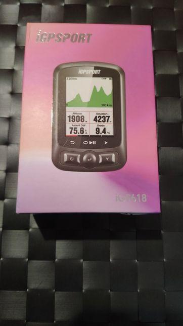 GPS bicicleta IGSPORT IGS618