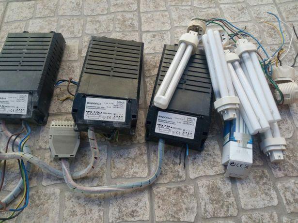 Transformadores (Exporlux 2x26w) para lampadas flurescentes