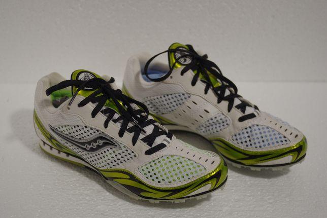 НОВІ !!! Шиповки для бігу Saucony Velocity Spike 2 Distance 42-43р.