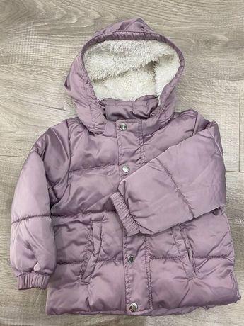 Куртка НМ на флисе (деми )