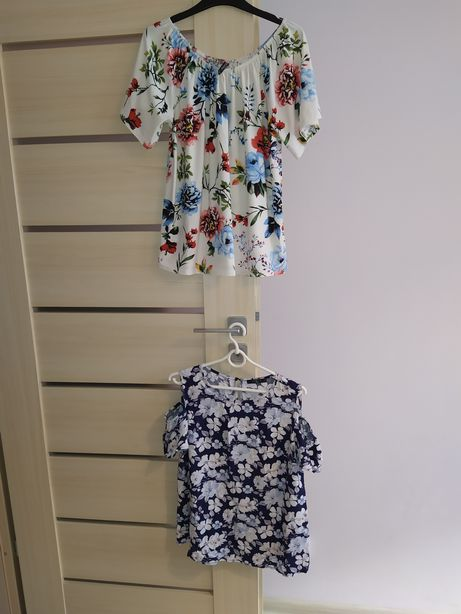 Bluzki hiszpanki kwiaty na lato MOHITO, Modoo r.L(40)