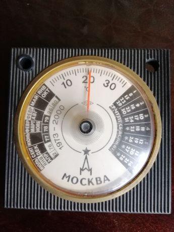 Продам термометр+календарь, СССР