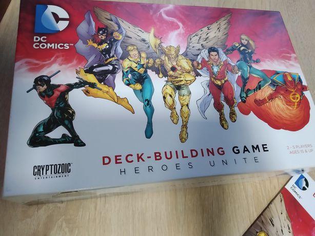 Настільна гра DC Deck - building game