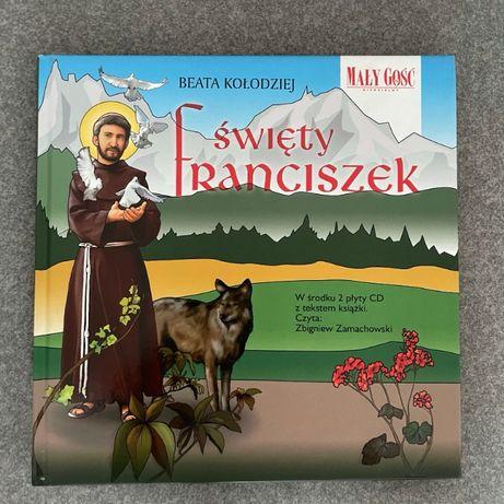 Święty Franciszek + 2 płyty CD - Mały Gość Niedzielny