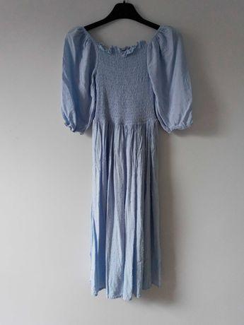 Jasnoniebieska sukienka Shein S/36