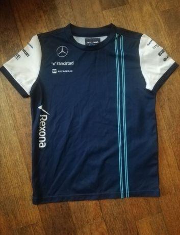 Koszulka piłkarska sportowa rajdy Williams Racing 9-10 lat 140 ja nowa