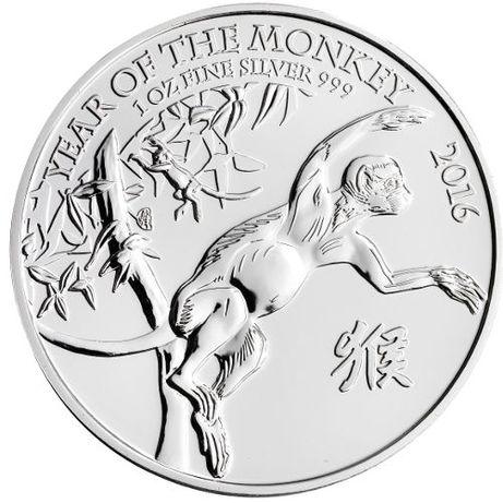 Monety srebrne limitowana seria