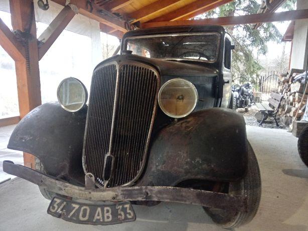 Renault Monaquatre , zabytek , mona 4 , citroen bl ,