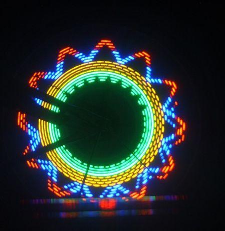 Светодиодные огни на колесо велосипеда