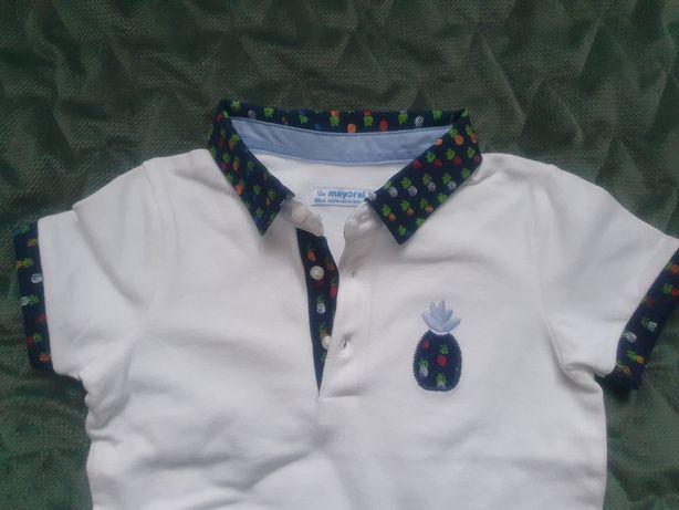 Mayoral bluzeczka polo dla chłopca r. 80