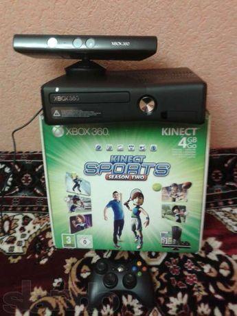 Xbox 360 Slim+Kinect+320gb+FreeBoot+Multi!!!