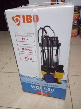 WQF 550 pompa zatapialna do szamba, wody brudnej