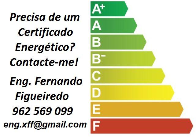 Certificado Energético Barato desde 55 E, todo Distrito Aveiro e Porto