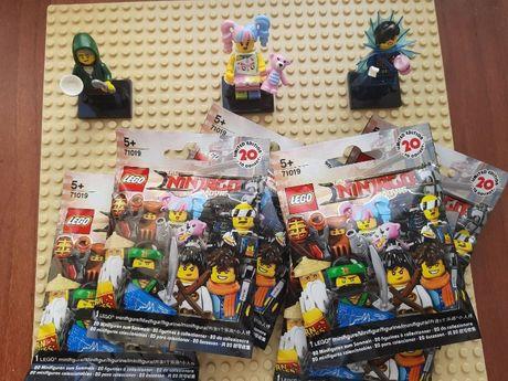 Лего минифигурки (оригинал) Lego minifigures ninjago movie 2017
