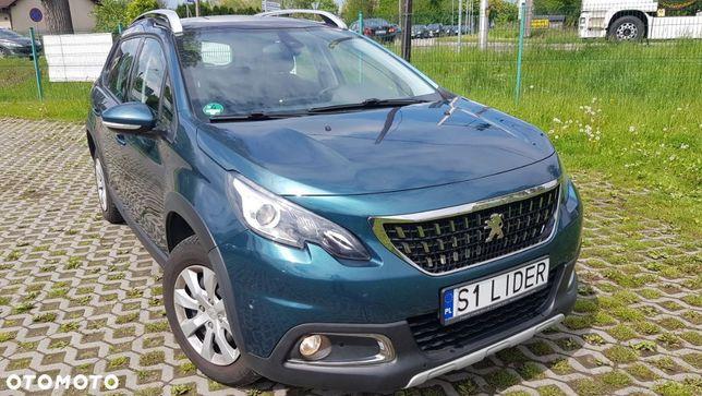 Peugeot 2008 Bezwypadkowy Serwisowany Oryginał Lakier Nawigacja
