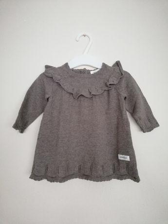 Sukienka sweterkowa Newbie rozmiar 62 cm