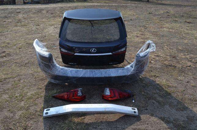Lexus RX RX 450H 2015-2019 зад в сборе (можно раскомплект) бампер, ляд