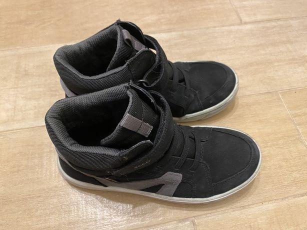 ECCO Кроссовки ботинки сникерсы 35 р. для мальчика