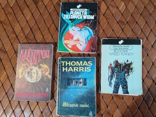 Książki horrory.