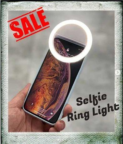Селфи кольцо RK-12 Selfie Ring Light