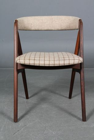 Jogo 4 cadeiras Th. Harlev em teca| Chair design| Escandinavo| Vintage