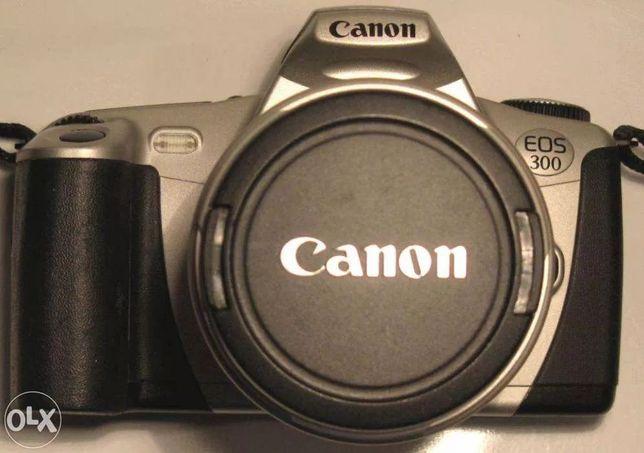 Câmara Fotográfica CANON EOS 300 - SLR de filme (Rolo)