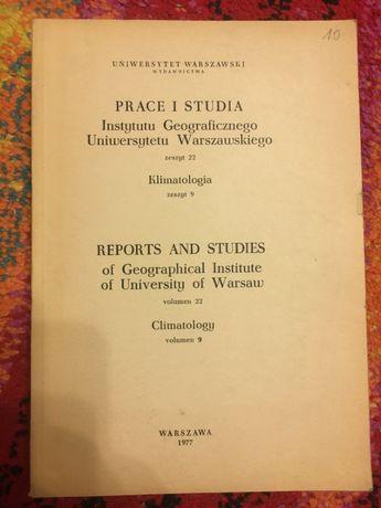 KLIMATOLOGIA UW 1977 TANIE książki techniczne