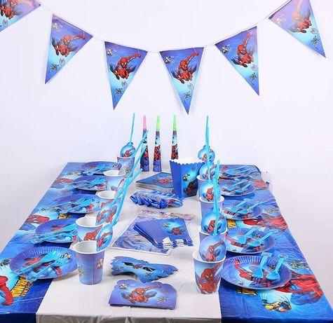 """Декор на день рождения """"Человек паук"""" кенди бар, фотозона"""