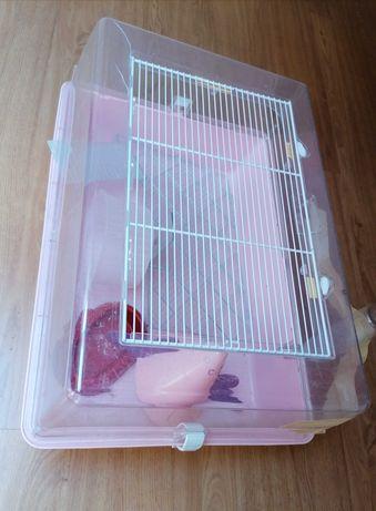 Gaiola para hamster em plástico