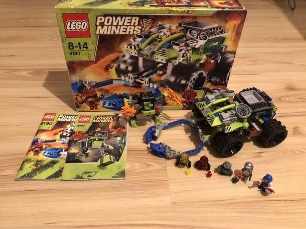 Zestaw klocków Lego Power Miners 8190 + gratis Lego 8957