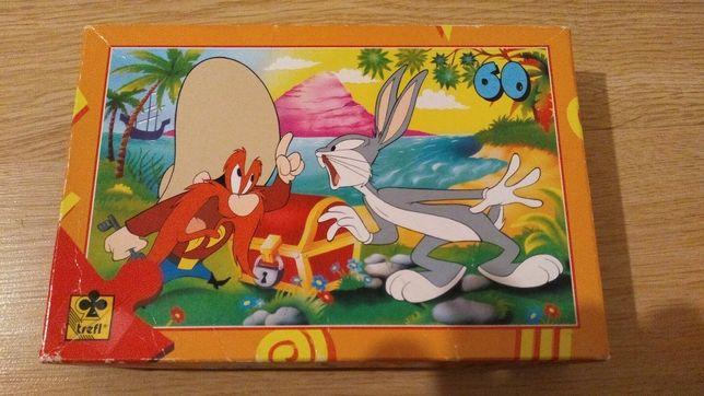 Puzzle Trefl 60 elementów Looney Tunes